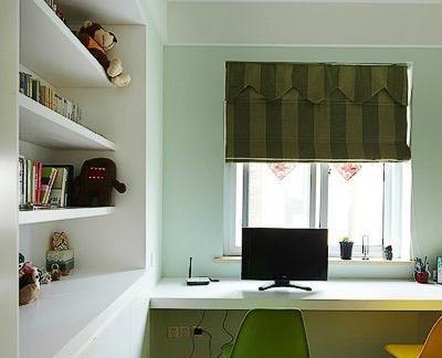 田园中式室内工作台装修设计