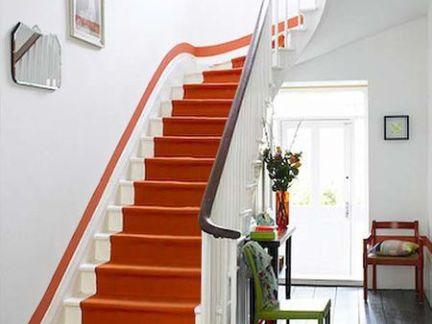 实木整体楼梯