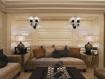 简欧式客厅设计装修效果图