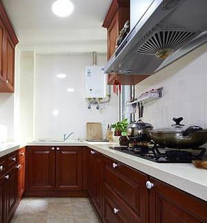 新中式风格家居厨房装修图片 - 良工装饰