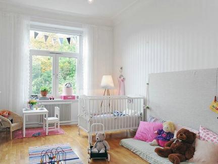 北欧风格5平米儿童房图片-5平米儿童房间装修 房天下装修效果图
