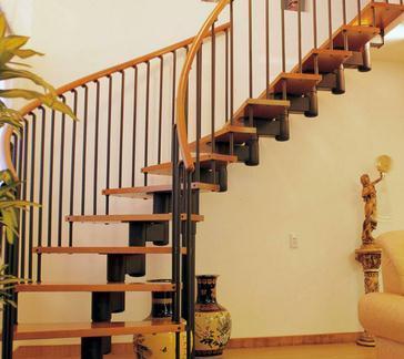 复式家居楼梯栏杆设计普通图片