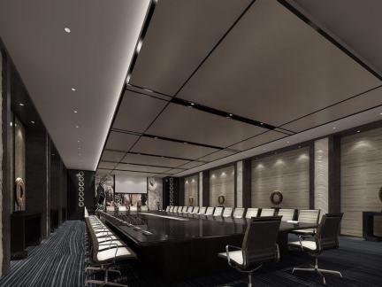 大会议室设计效果图片欣赏
