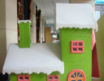 圣诞装饰房子设计效果图