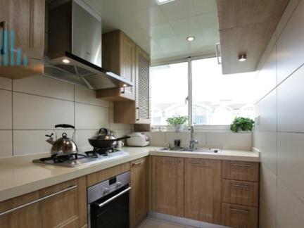 现代装修设计4平米厨房效果图