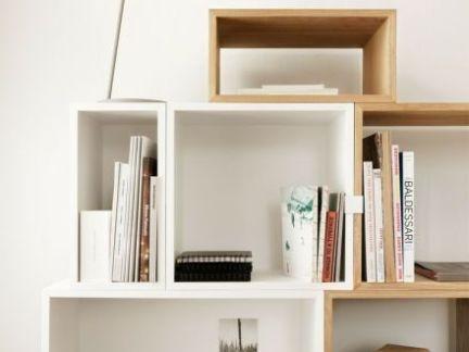 墙上自制简易书架图片-2017室内墙上书架效果图片 房天下装修效果图