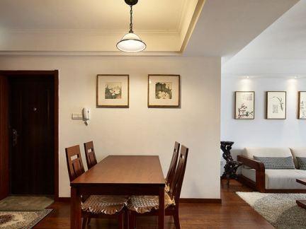 简中式风格餐厅装修设计图片