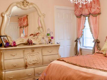 家庭软装设计女生卧室