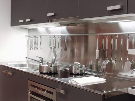 不锈钢厨房厨具图片欣赏