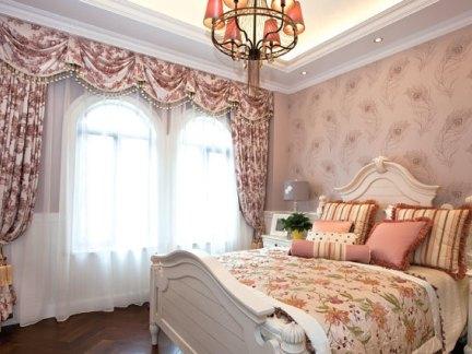 壁纸卧室效果图 - 实创装饰