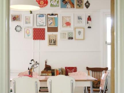 墙面装饰照片墙