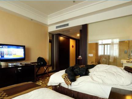 现代宾馆房间装饰效果图欣赏