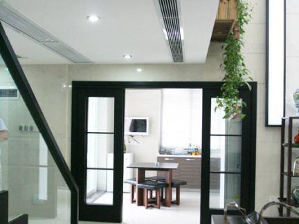 现代家居风格室内楼梯过道图片