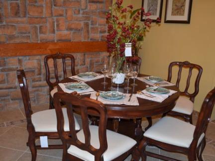 美式风格实景样板房餐厅 - 康之居装饰
