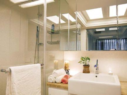 现代简约卫生间室内设计效果图片