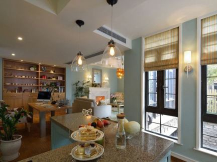 欧式风格厨房吊灯图片