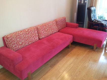 小客厅曲美家具沙发