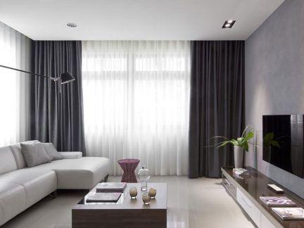 15平米客厅怎么装修-房天下装修效果图