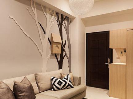 小户型客厅玄关设计图片