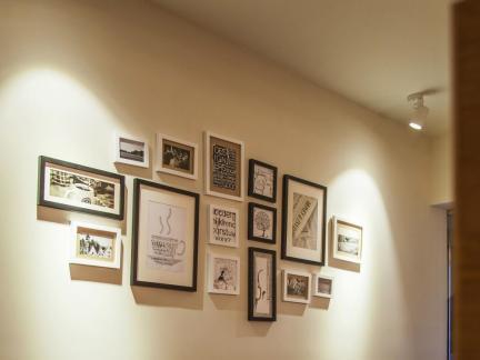 墙面装饰照片墙设计