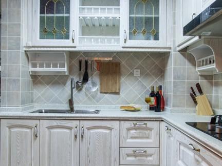 田园风格家装厨房图片欣赏2014