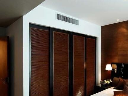 新中式卧室大衣柜效果图