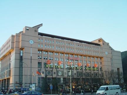 北京图书大厦外观效果图