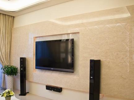 欧式新古典电视背景墙效果图