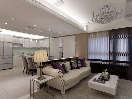 最新现代两室一厅户型室内装修图片大全
