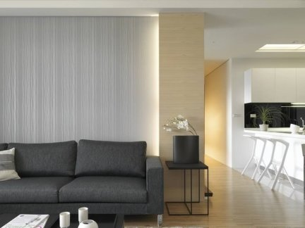 简约家具客厅布艺沙发图片