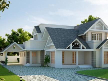 别墅欧式建筑图片