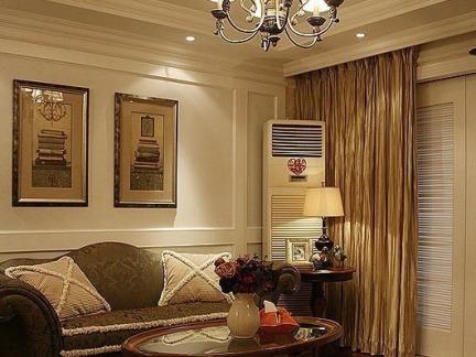 东南亚风格家居精装修一室一厅户型设计