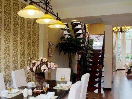 小户型空间创意设计餐厅效果图