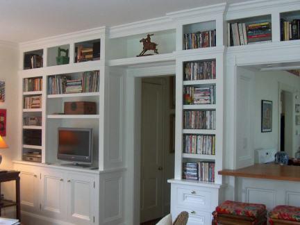 室内设计组合书柜图片