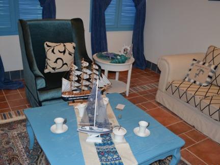 地中海风格客厅茶几图片 - 康之居装饰