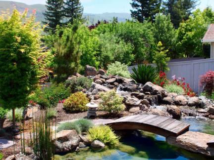 中式庭院设计鱼池装修