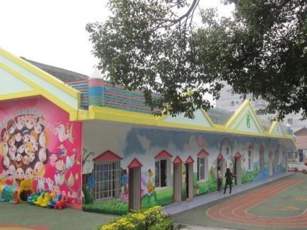 幼儿园房子图片