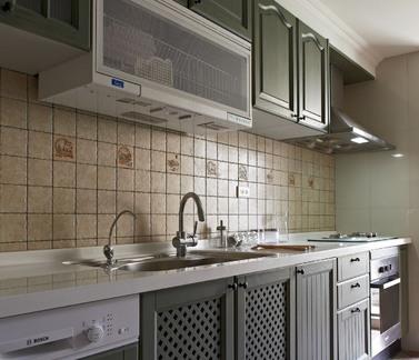 田园2平米厨房设计