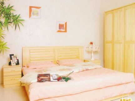 12平米卧室松木家具