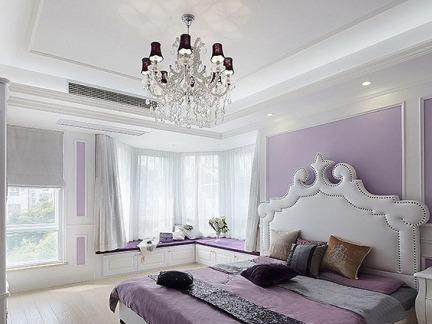 简欧家庭设计室内卧室图片欣赏