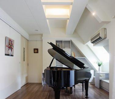 现代简约家居琴房装修案例图片