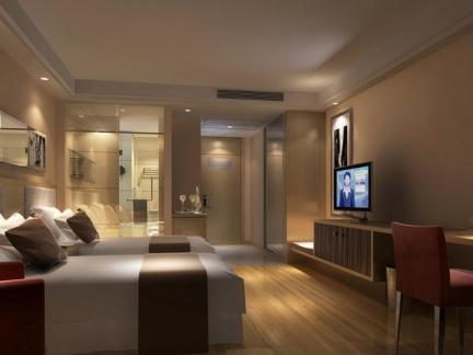 宾馆设计房间图片欣赏