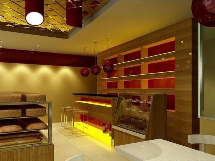 欧式蛋糕店装修效果图图片