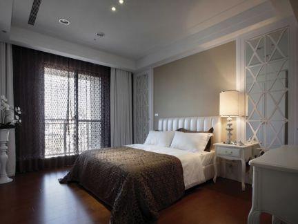 美式现代卧室设计装饰效果图