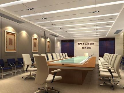 大会议室室内设计效果图片