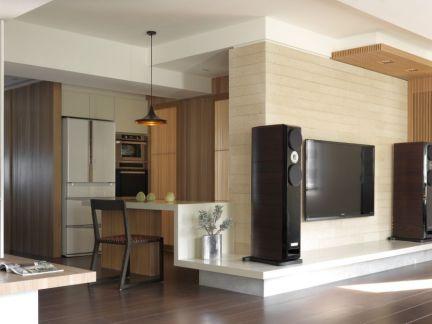 瓷砖电视背景墙装修设计图