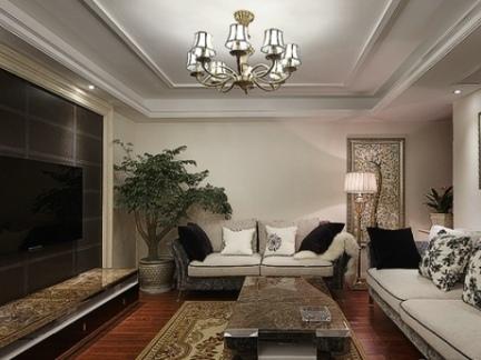家庭装修设计客厅电视背景墙效果图欣赏大全