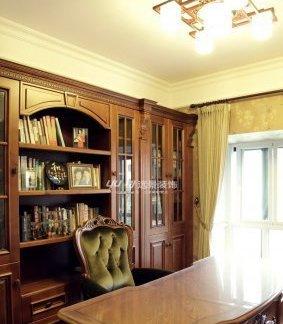 地台书房装修效果图