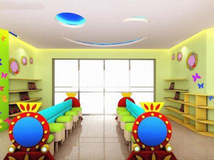 幼儿园设计教室效果图