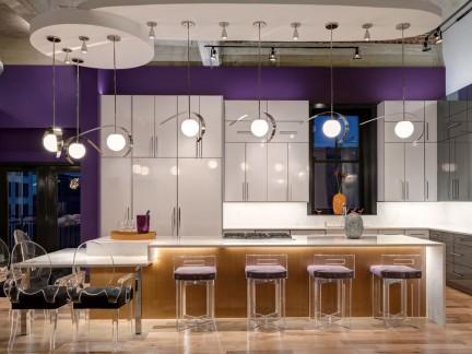 家庭设计厨房吧台图片欣赏